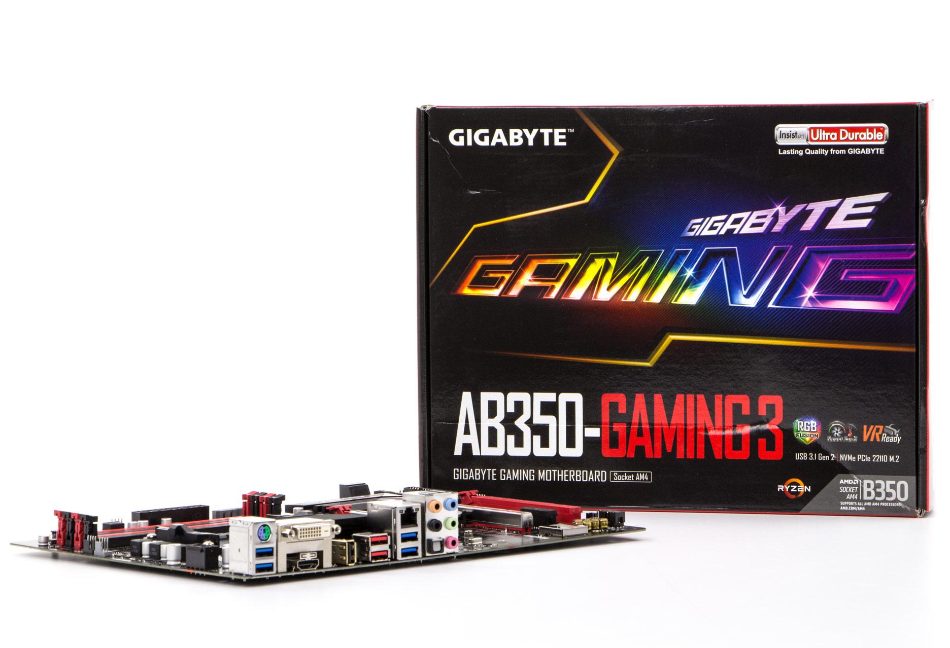 Gigabyte GA AB350 Gaming 3