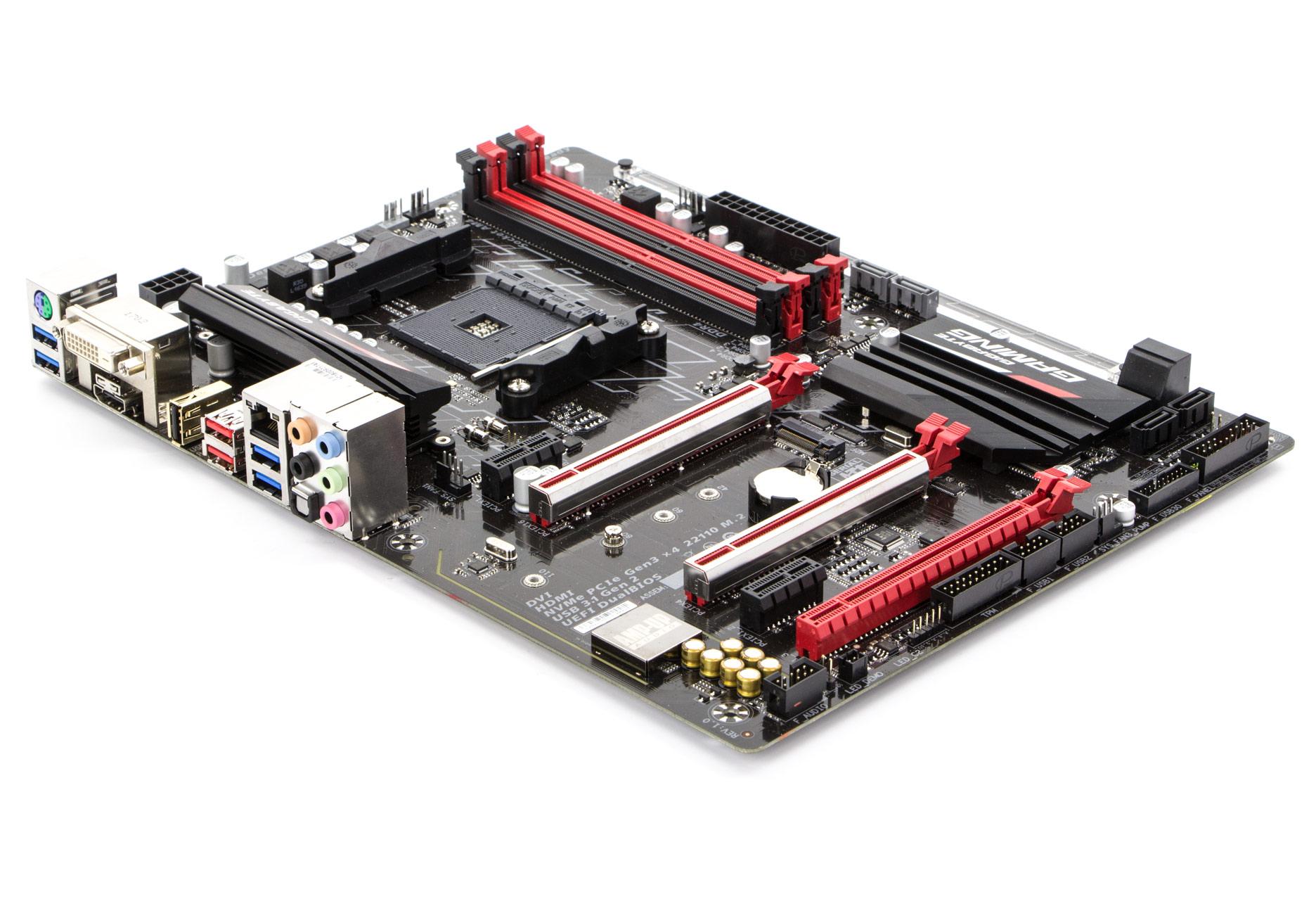 Jest gaming więc jest podświetlenie Jednych to ucieszy inni mogą to wyłączyć Poza tym płyta została wyposażona między innymi we wzmocnione sloty PCIe
