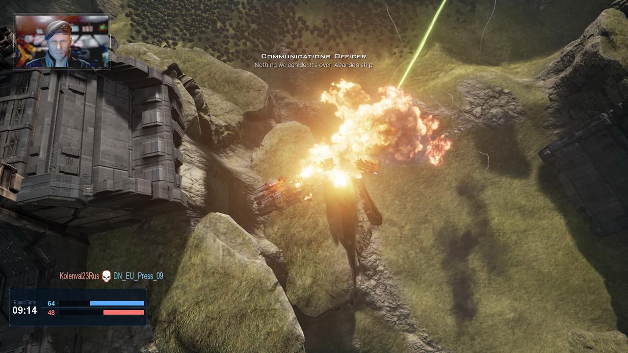 Dreadnought - gracz strącony