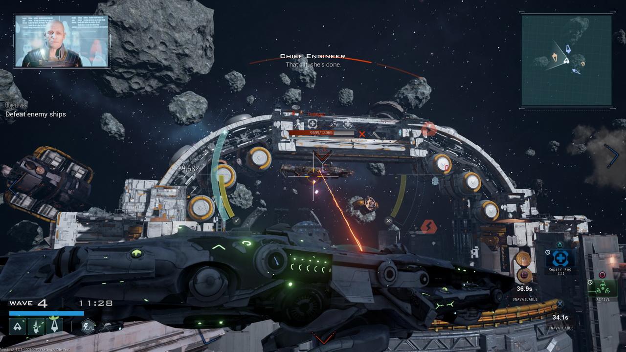 Dreadnought - atak z daleka