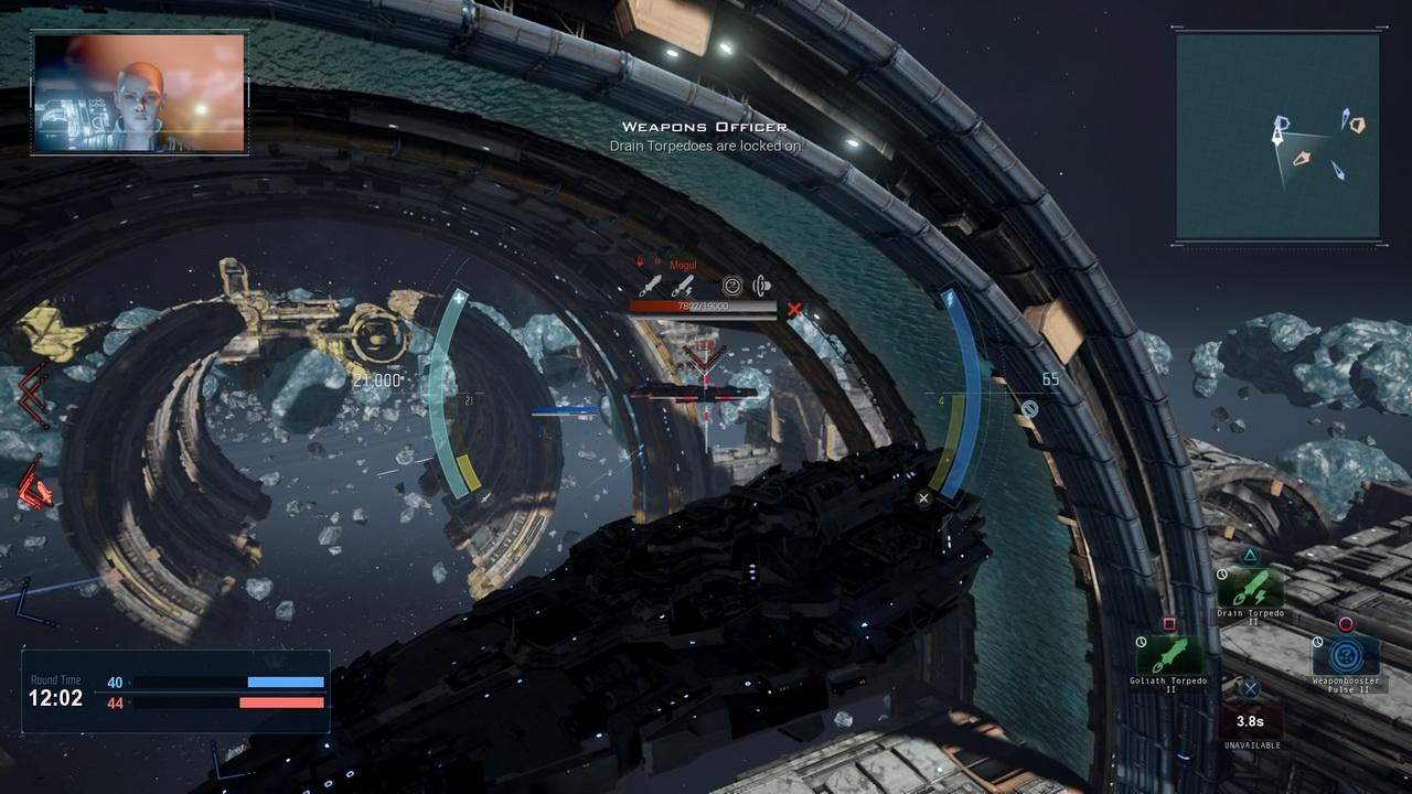 Dreadnought - przegrupowanie