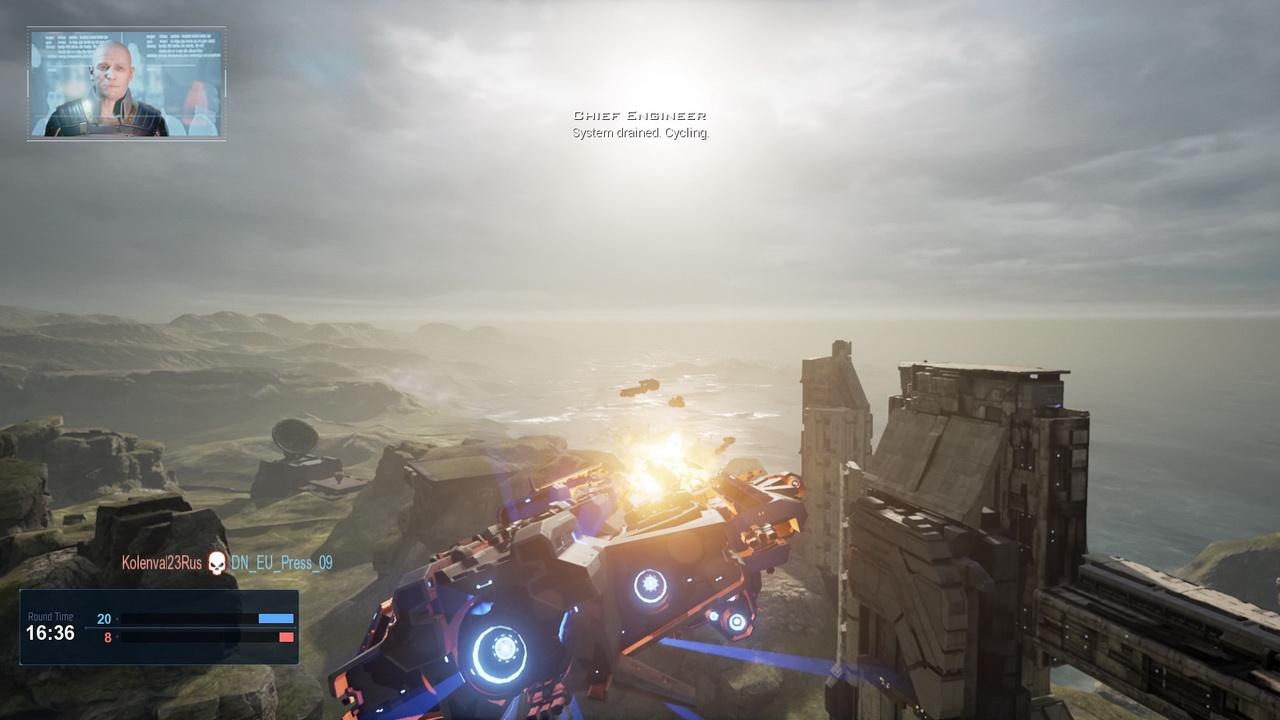 Dreadnought - walka nad powierzchnią planety