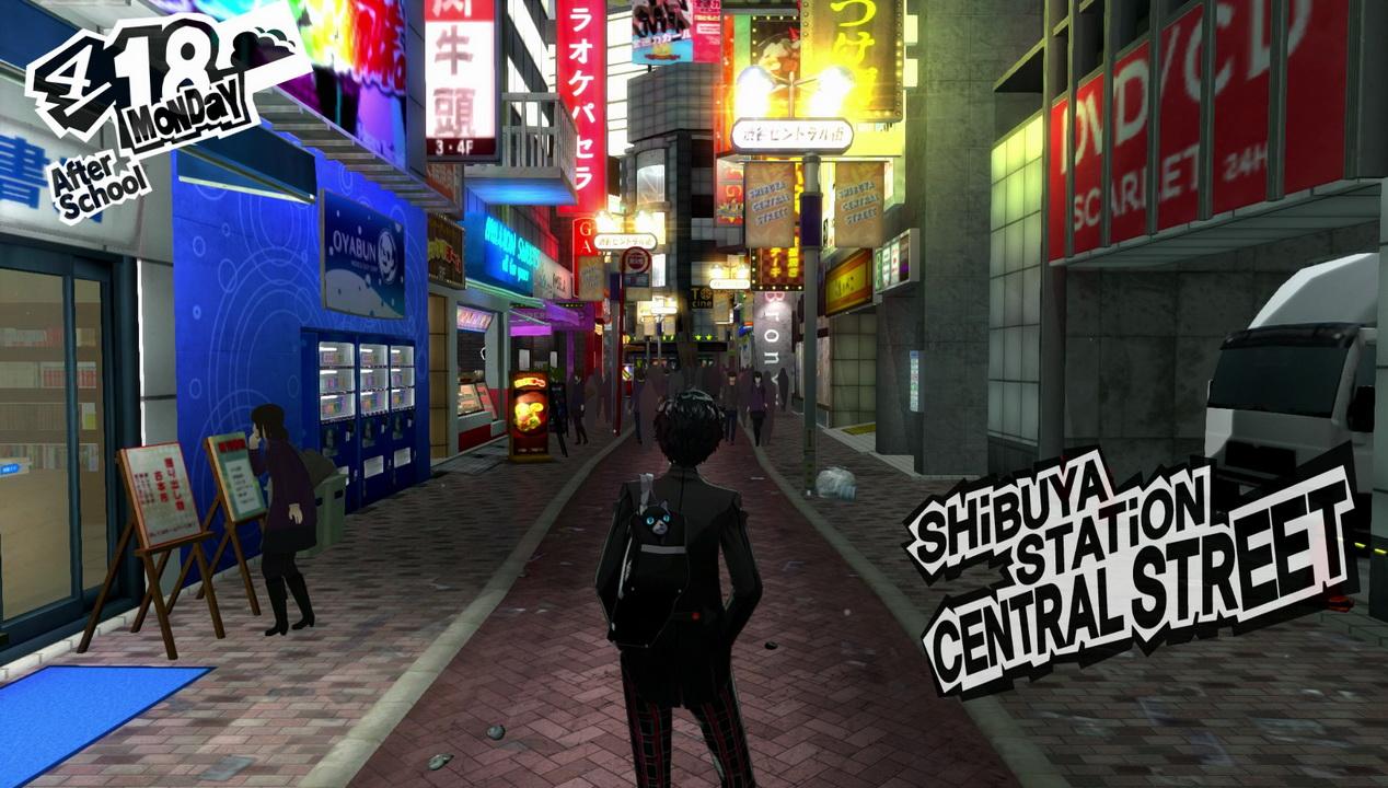 Persona 5 - Shibuya