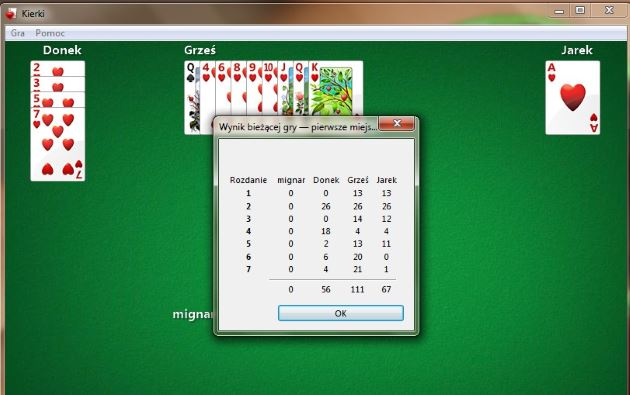 kierki windows 7