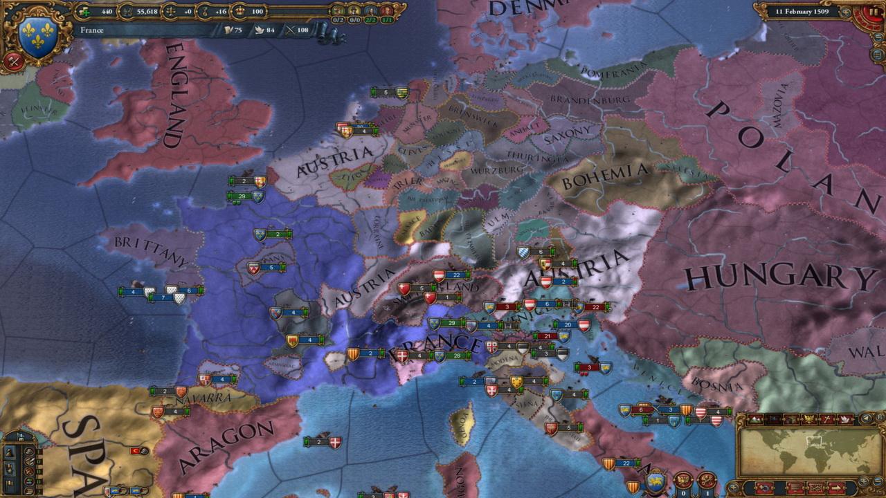 Najbardziej wpływowe marki gier - Europa Universalis