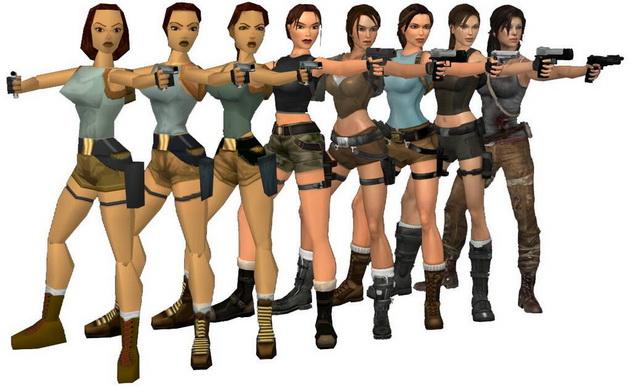 Najbardziej wpływowe marki gier - ewolucja Lary Croft