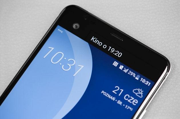 HTC U Ultra dodatkowy ekran