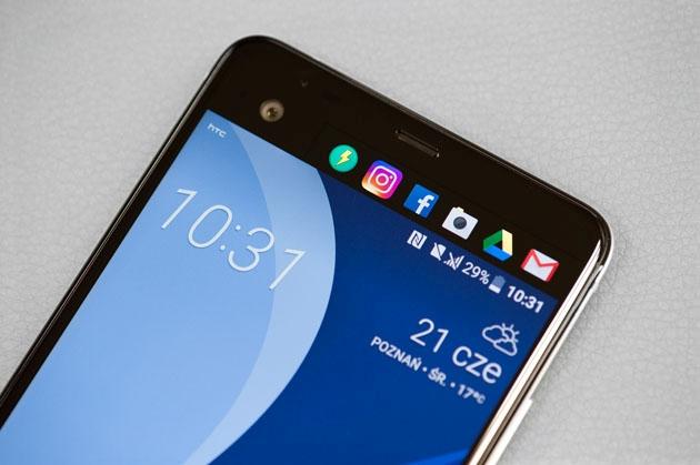 HTC U Ultra dodatkowy ekran skróty
