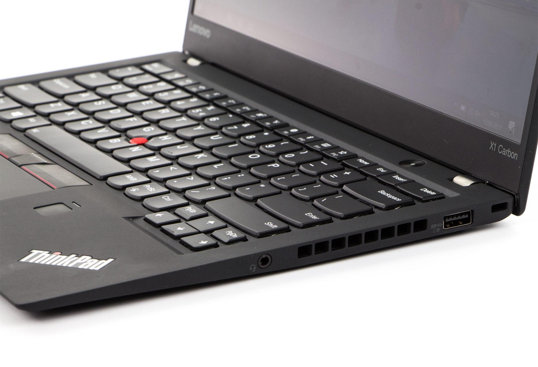 Lenovo ThinkPad X1 Carbon 5  prawy bok