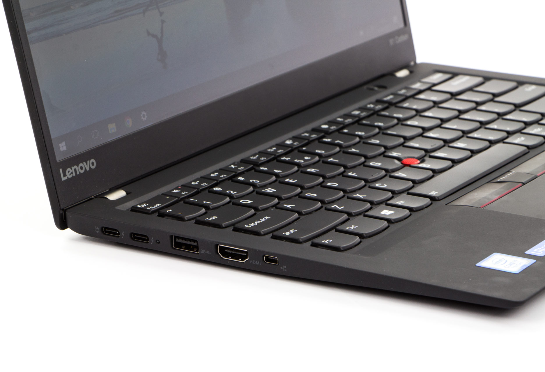 Lenovo ThinkPad X1 Carbon 5  lewy bok