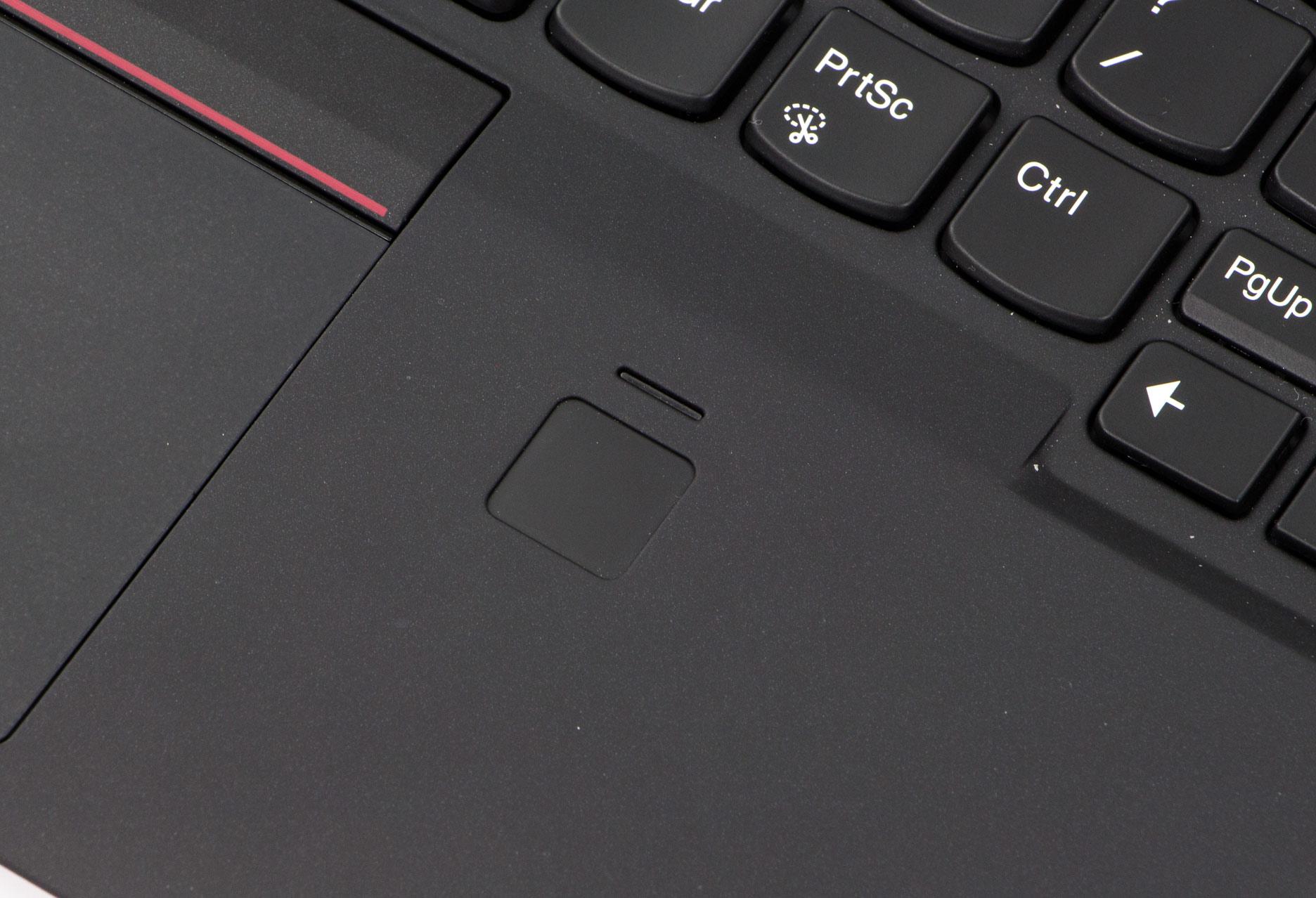 Lenovo ThinkPad X1 Carbon 5 czytnik linii papilarnych