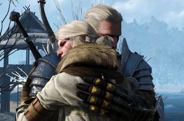 Najlepsi ojcowie z gier - Geralt i Ciri