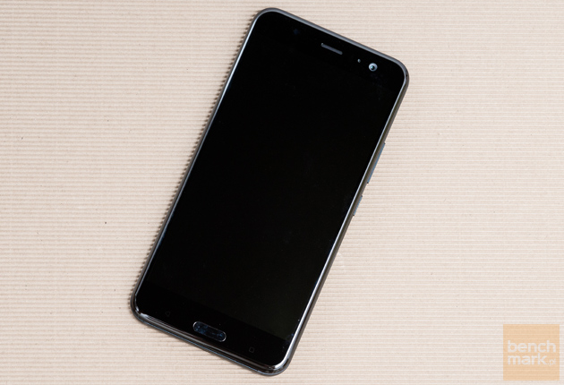 HTC U11 przód czarny ekran