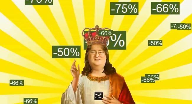 Steam Sale - Gabe Newell