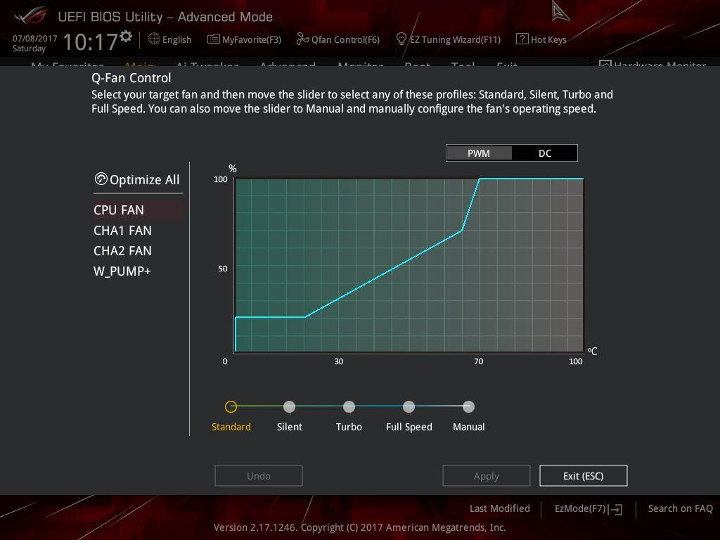 ASUS Strix Z270G Gaming - UEFI BIOS