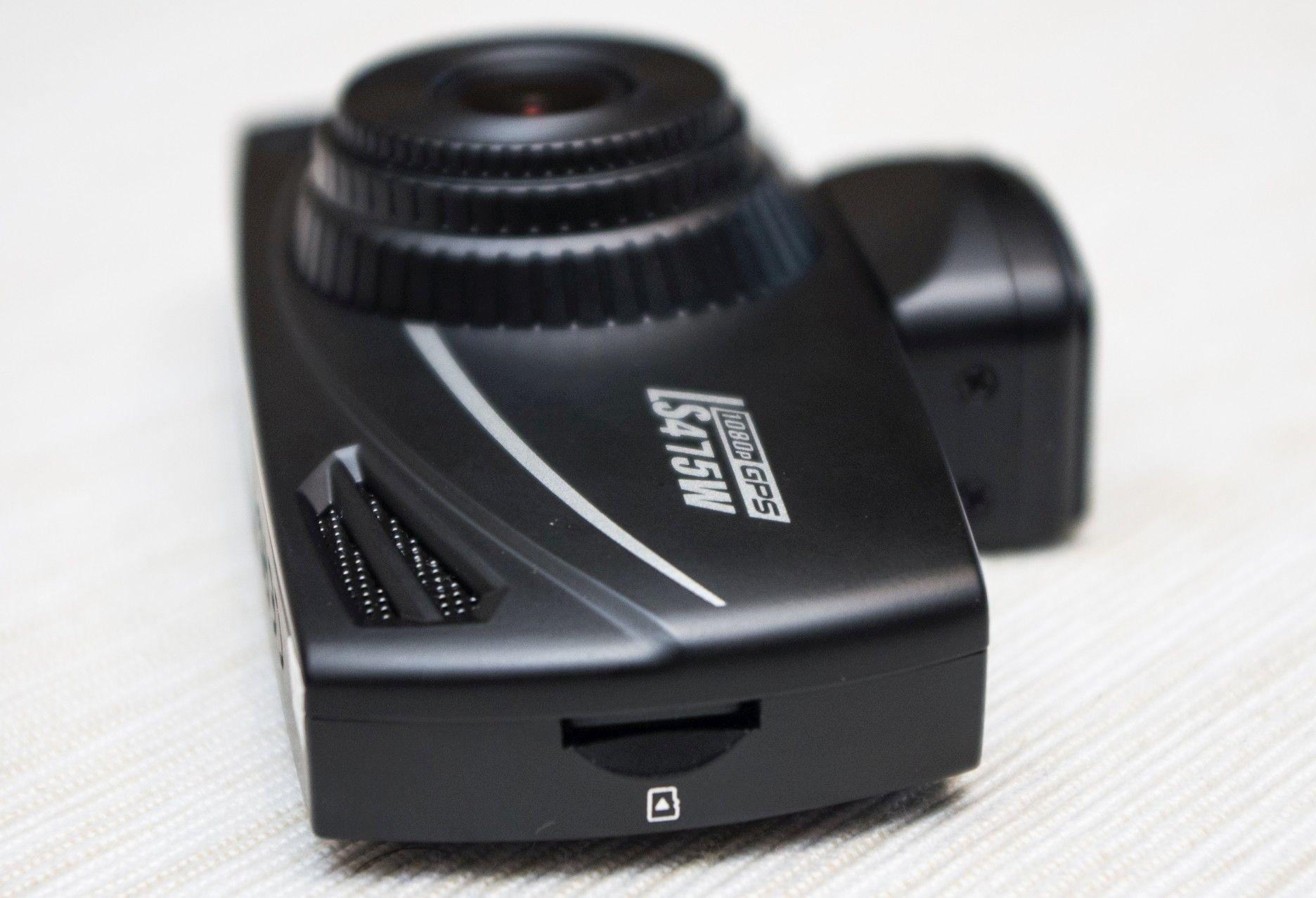 DOD LS470W GPS - prawy bok