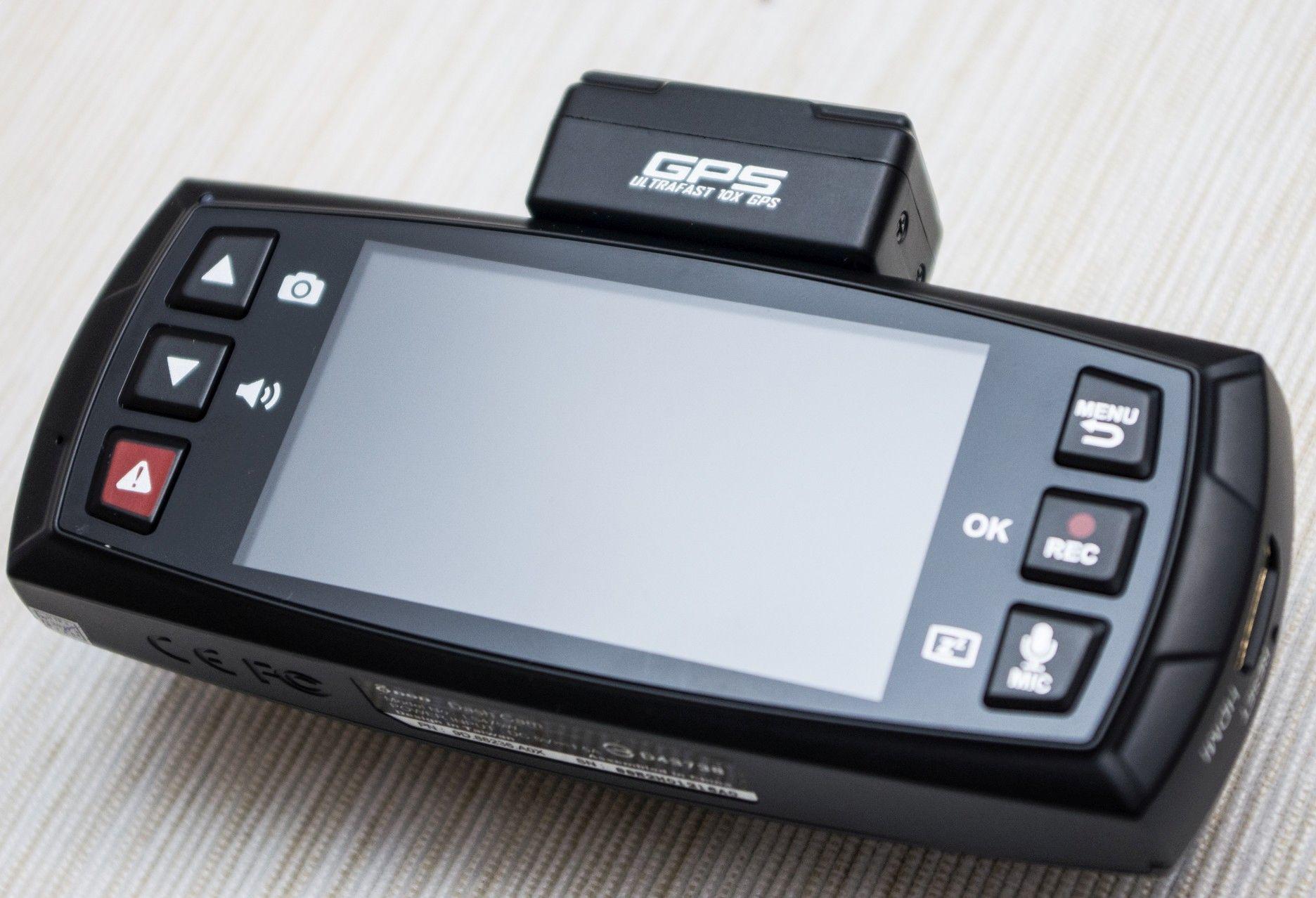 DOD LS470W GPS - ekran