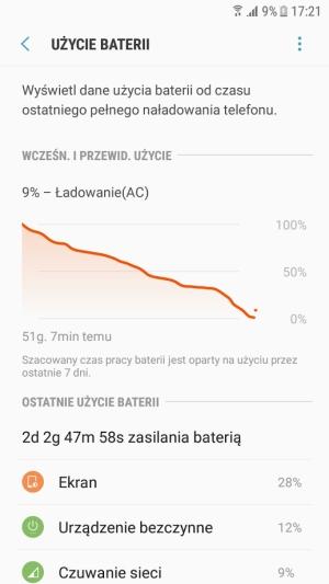 Galaxy Xcover 4 bateria