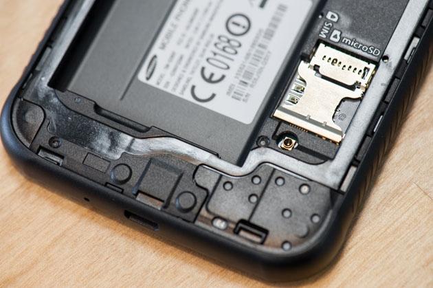 Galaxy Xcover 4 czytnik microSD