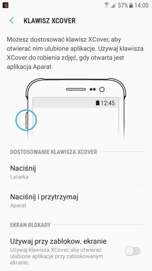 Galaxy Xcover 4 klawisz Xcover