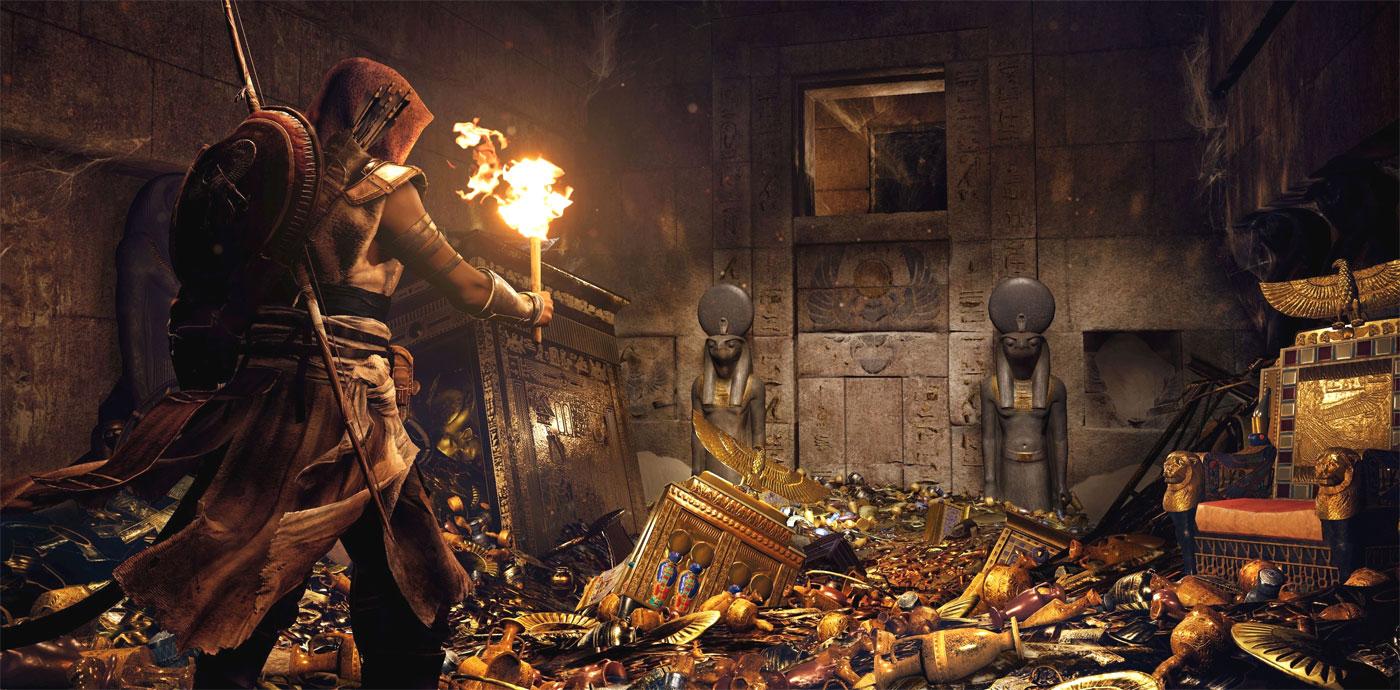 Najgorętsze gry 2017 - Assassin's Creed: Origins