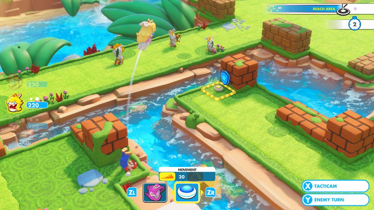 Najgorętsze gry 2017 - Mario+Rabbids: Kingdom Battle