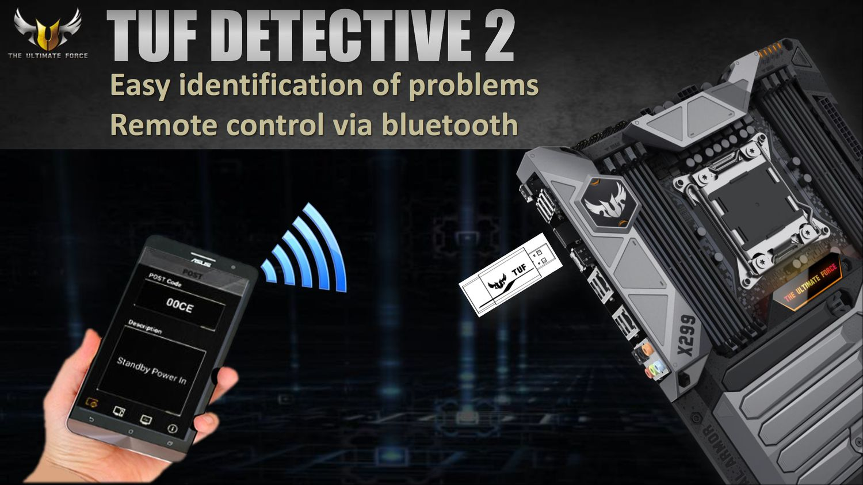 ASUS TUF X299 Mark 1 - TUF Detective 2