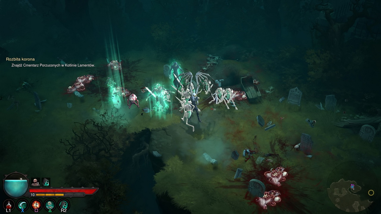 Diablo III: Przebudzenie Nekromantów - szkielety