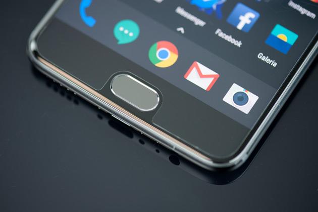 OnePlus 5 - czytnik linii papilarnych