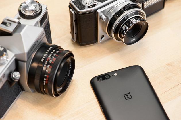 OnePlus 5 - podwójny aparat