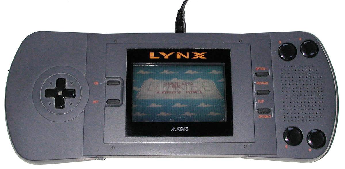 Granie w kieszeni - Atari Lynx