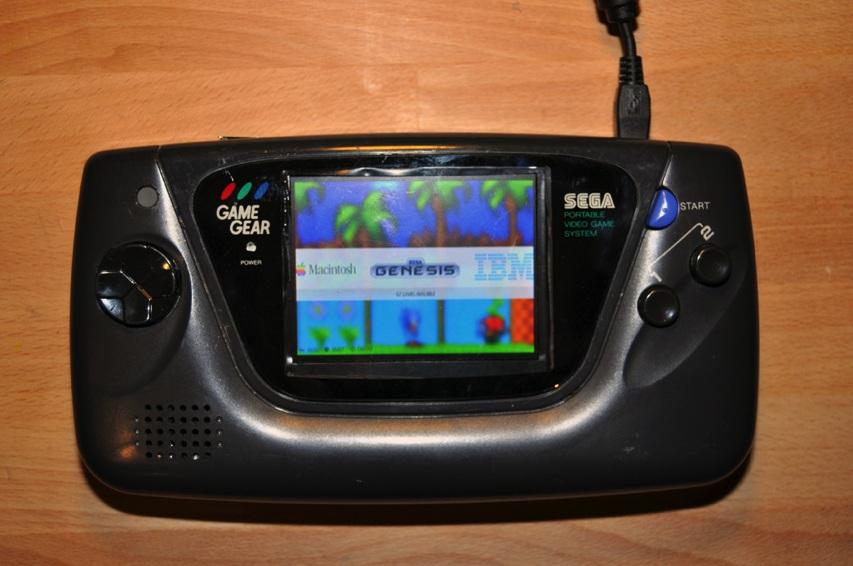 Granie w kieszeni - Game Gear
