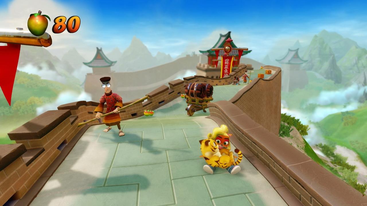Crash Bandicoot N.Sane Trilogy - Coco na Chińskim Murze