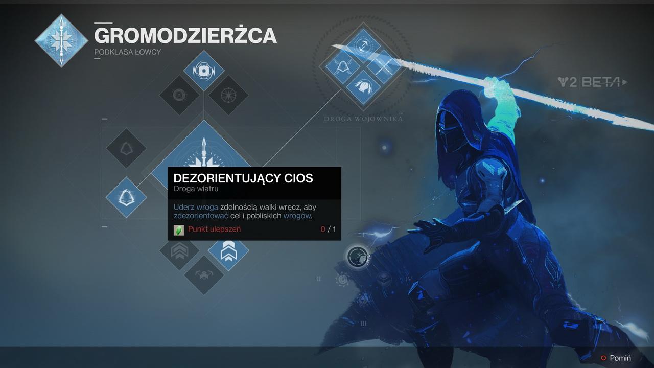 Destiny 2 - plansza zdolności