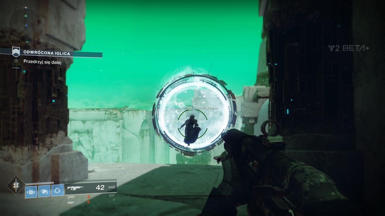 Destiny 2 - skoki przez tunele