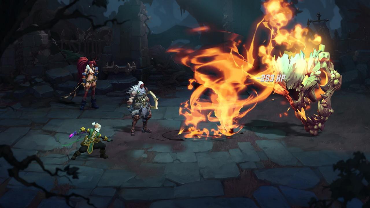 Gamescom 2017 - Battle Chasers
