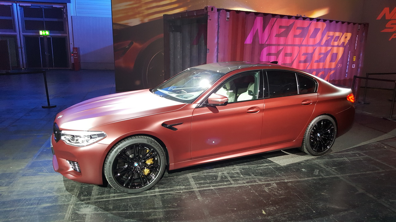 Gamescom 2017 - BMW M5 pojawi się w Need for Speed: Payback