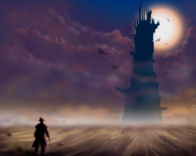 Gramy w książki - Mroczna Wieża