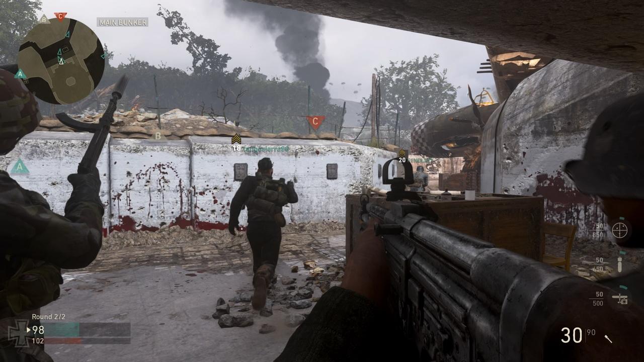 Call of Duty: WWII - bieg na pozycje wroga