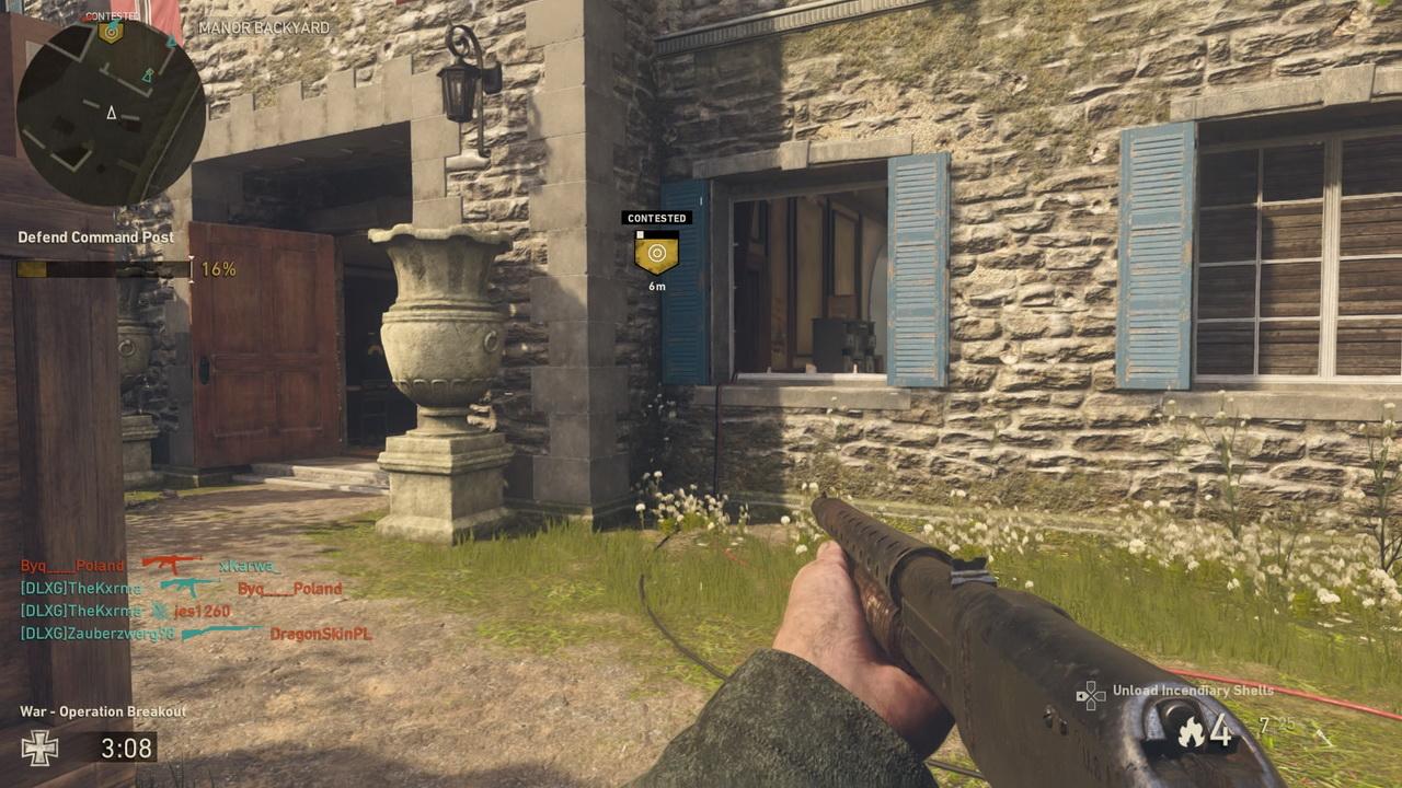 Call of Duty: WWII - obrona punktu dowodzenia