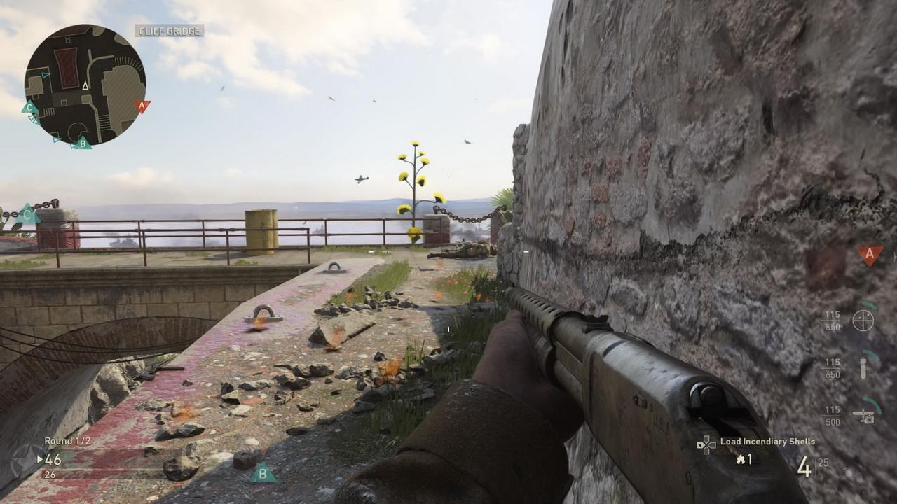 Call of Duty: WWII - przyczajenie