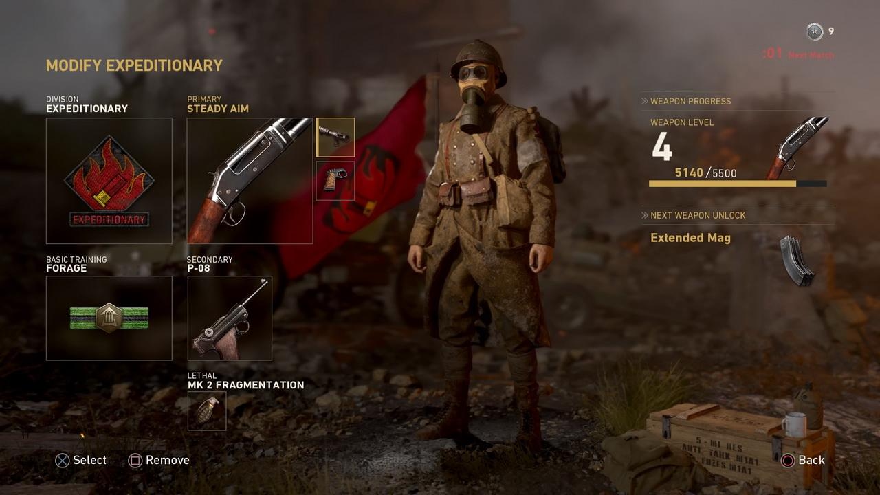 Call of Duty: WWII - modyfikacja piechura