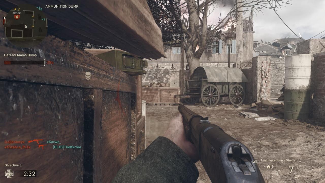 Call of Duty: WWII - obrona składu amunicji