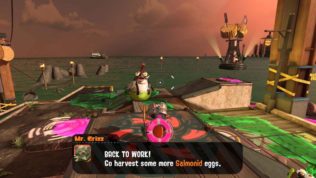 Splatoon 2 - tryb Salmon Run