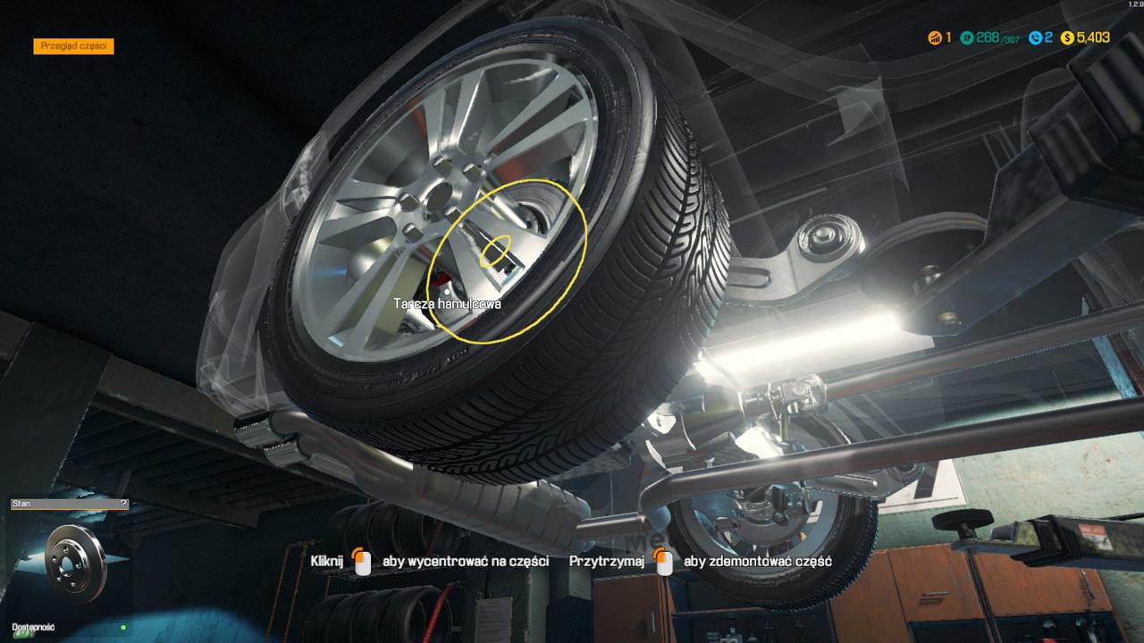 Car Mechanic Simulator 2018 - tarcza hamulcowa