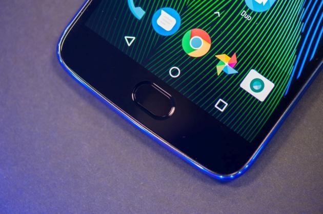 Moto G5 Plus czytnik linii papilarnych