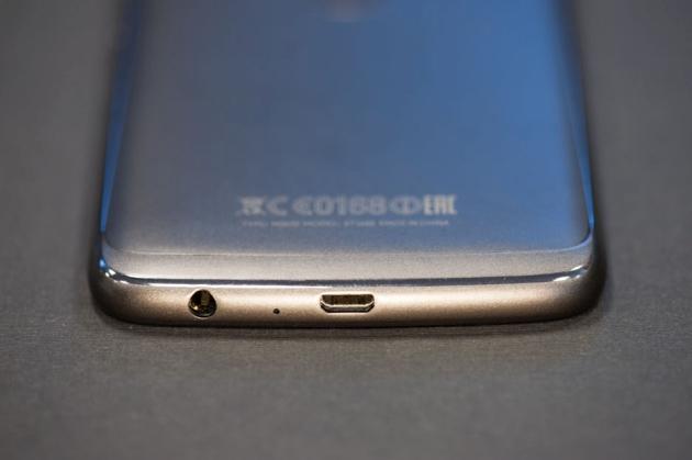 Moto G5 Plus złącza