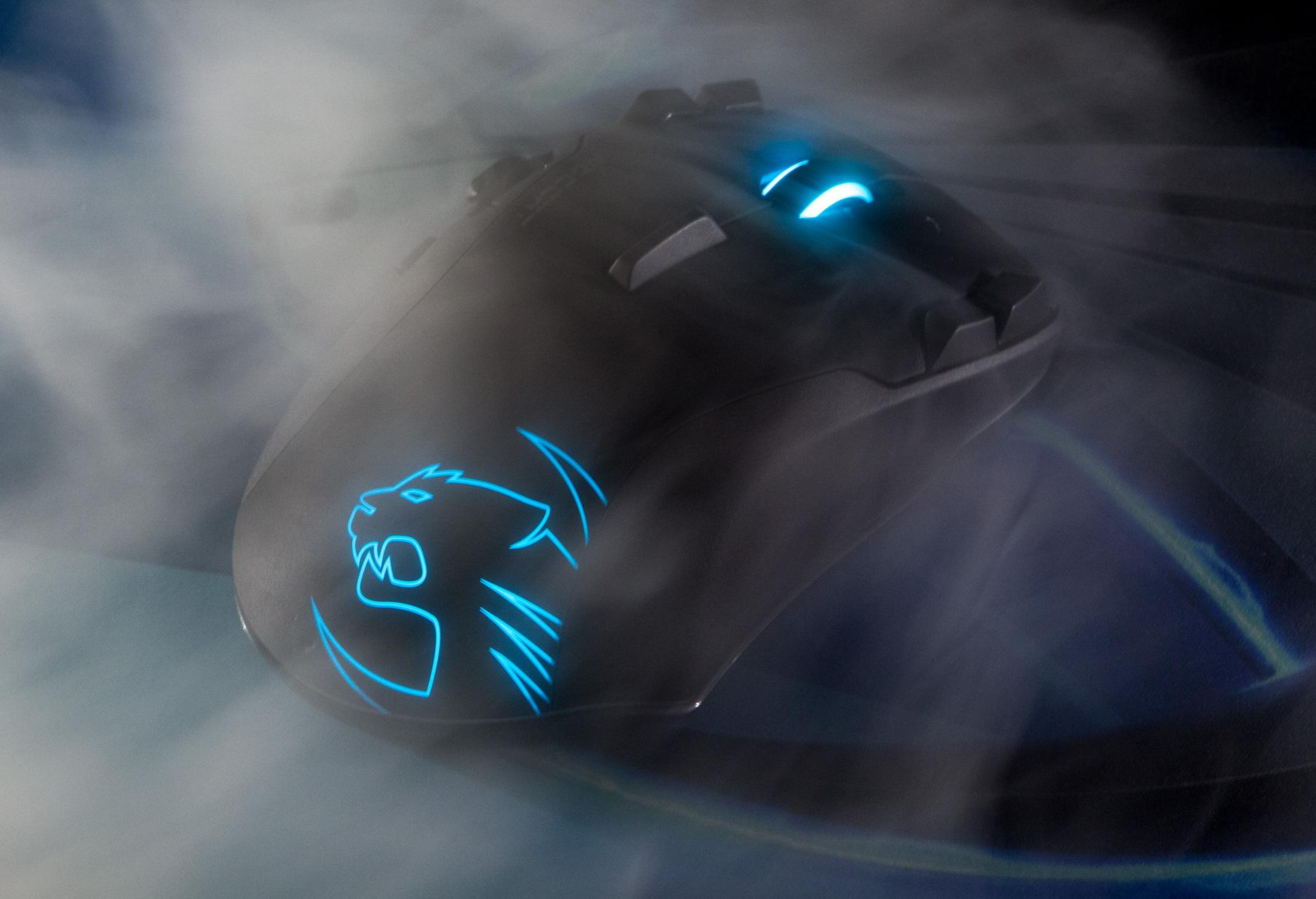 Roccat Leadr - w oparach dymu