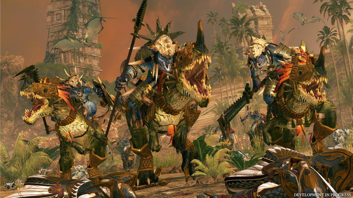 Total War: Warhammer II - Jaszczuroludzie