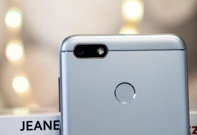 Huawei P9 Lite Mini czytnik linii papilarnych